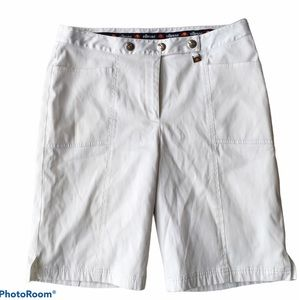 Ellesse Italia 10 White Shorts Women's Lined